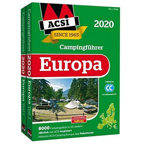 Kai Feyerabend - ACSI Internationaler Campingführer Europa 2020: in 2 Bänden inkl. Ermässigungskarte und ACSI Camping Europa-App Rabattcode. (Hallwag Promobil) - Preis vom 11.05.2021 04:49:30 h