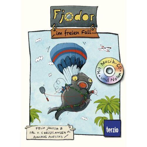 Felix Janosa - Fjodor, Band 2: Fjodor im freien Fall: Buch mit CD - Preis vom 03.12.2020 05:57:36 h