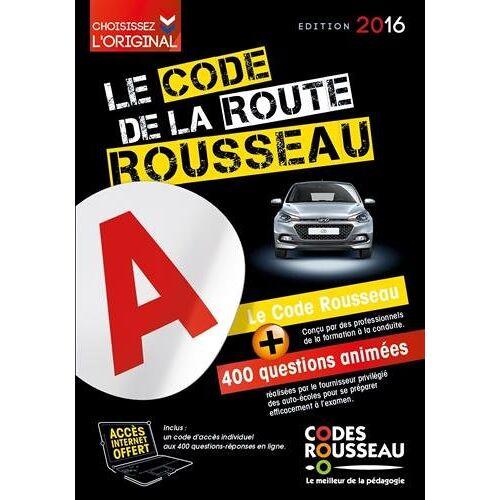 Codes Rousseau - Le code de la route Rousseau - Preis vom 10.04.2021 04:53:14 h