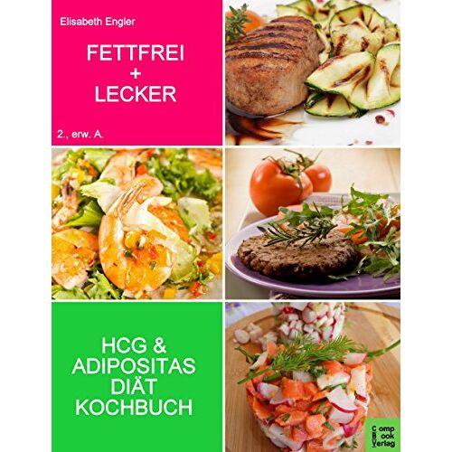 Elisabeth Engler - FETTFREI & LECKER: Das Diätkochbuch für Adipositas und HCG - Preis vom 25.02.2021 06:08:03 h