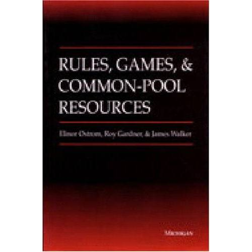 Elinor Ostrom - Rules, Games, and Common-Pool Resources (Ann Arbor Books) - Preis vom 27.02.2021 06:04:24 h