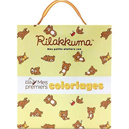 - Mes premiers coloriages Rilakkuma : Contient : 1 bloc d'activités, 5 crayons de cire adaptés aux petites mains - Preis vom 15.04.2021 04:51:42 h