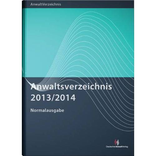 - Anwaltsverzeichnis 2013/2014 Normalausgabe - Preis vom 31.03.2020 04:56:10 h