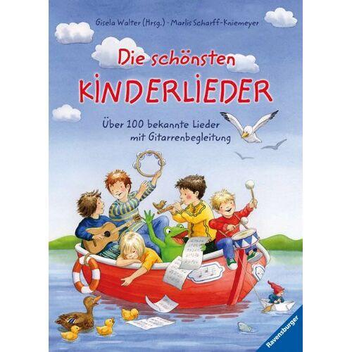 Gisela Walter - Die schönsten Kinderlieder: Über 100 bekannte Lieder mit Gitarrenbegleitung - Preis vom 23.02.2021 06:05:19 h