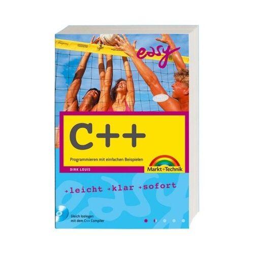 Dirk Louis - C++ - Mit dem C++-Builder X (PE) und allen Beispielen auf CD!: Programmieren mit einfachen Beispielen (easy) - Preis vom 07.04.2020 04:55:49 h