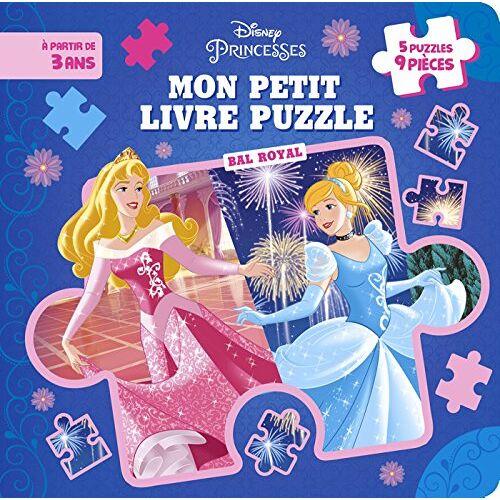 - Mon petit livre puzzle Disney Princesses - Preis vom 24.02.2021 06:00:20 h