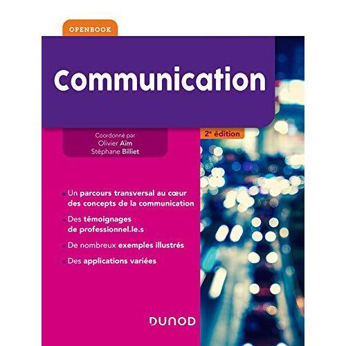 Olivier Aïm - Communication - 2e éd. (Communication licence (1)) - Preis vom 13.05.2021 04:51:36 h