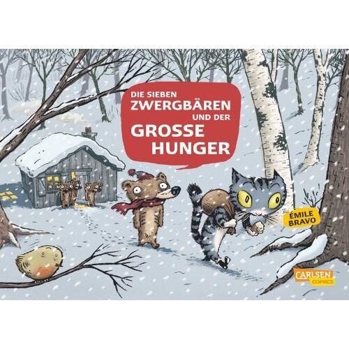 Emile Bravo - Die sieben Zwergbären, Band 2: Die 7 Zwergbären und der große Hunger - Preis vom 26.02.2021 06:01:53 h
