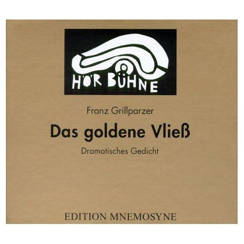 Franz Grillparzer - Das goldene Vließ. 3 CDs. - Preis vom 20.10.2020 04:55:35 h