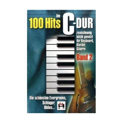 Gerhard Hildner - 100 Hits in C-Dur, für Klavier, Keyboard, Gitarre - Preis vom 20.10.2020 04:55:35 h
