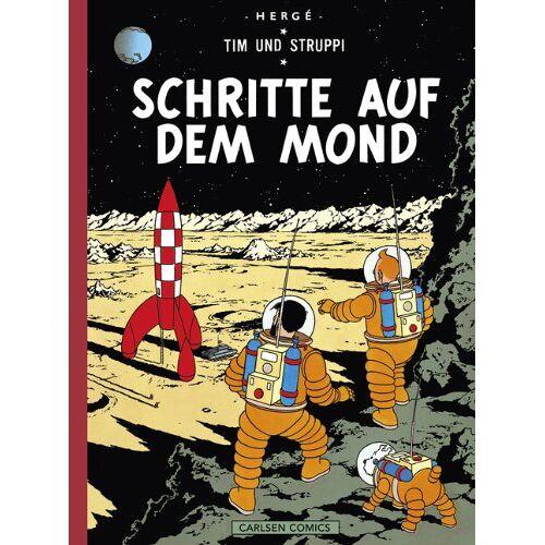 Hergé - Tim & Struppi Farbfaksimile, Band 16: Schritte auf dem Mond - Preis vom 11.05.2021 04:49:30 h