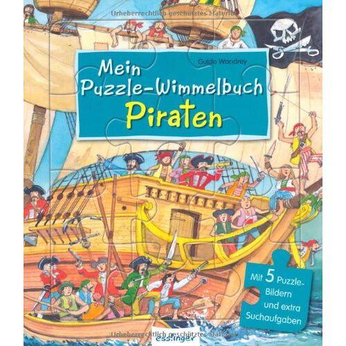 - Mein Puzzle-Wimmelbuch - Piraten - Preis vom 25.02.2021 06:08:03 h