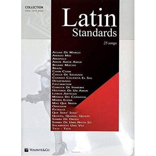 Various - Latin Standards, für Klavier und Gesang - Preis vom 24.01.2021 06:07:55 h