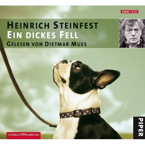 Heinrich Steinfest - Ein dickes Fell - Preis vom 11.05.2021 04:49:30 h