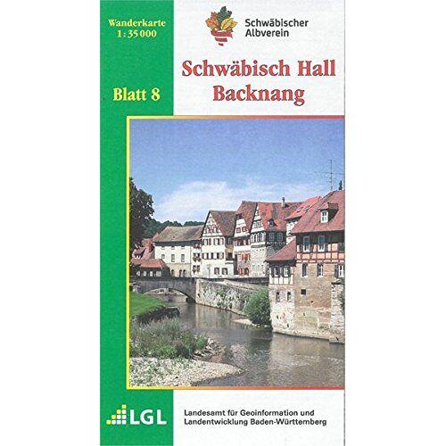 Schwäbischer Albverein e.V. - Schwäbisch Hall - Backnang: Wanderkarte 1:35.000 (Karte des Schwäbischen Albvereins, Band 8) - Preis vom 20.10.2020 04:55:35 h