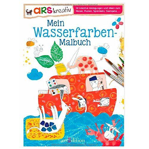 - Mein Wasserfarben-Malbuch - Preis vom 24.01.2020 06:02:04 h