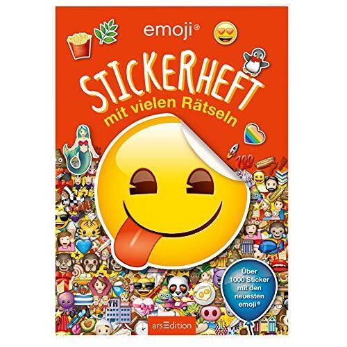 - emoji - Stickerheft mit vielen Rätseln - Preis vom 16.04.2021 04:54:32 h