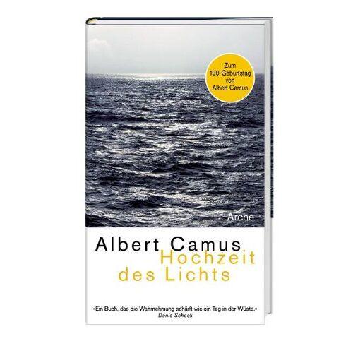Albert Camus - Hochzeit des Lichts Neu - Preis vom 31.03.2020 04:56:10 h