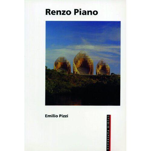 Emilio Pizzi - Renzo Piano (Studio Paperback) - Preis vom 13.04.2021 04:49:48 h