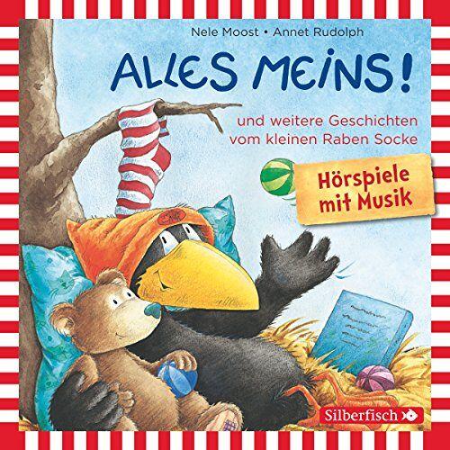 Nele Moost - Alles meins!: und weitere Geschichten vom kleinen Raben Socke: 1 CD (Kleiner Rabe Socke) - Preis vom 15.04.2021 04:51:42 h