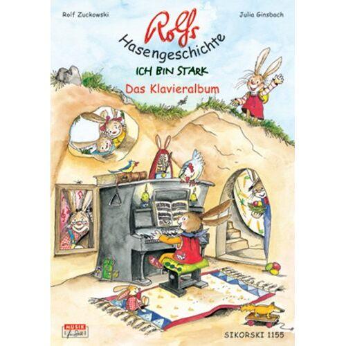 - Rolfs Hasengeschichte, Das Klavieralbum (Ed. 1155): Ich bin stark - Preis vom 20.10.2020 04:55:35 h