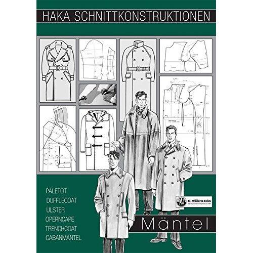 München Deutsche Bekleidungs-Akademie - HAKA Schnittkonstruktionen Mäntel - Preis vom 18.04.2021 04:52:10 h