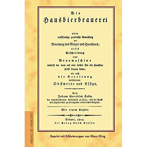 Hahn, Johann G - Die Hausbierbrauerei - Preis vom 18.10.2020 04:52:00 h