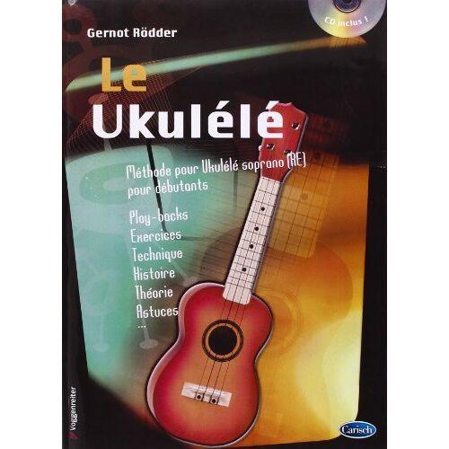 Gernot Rödder - Rodder Gernot Le Ukulele Uke Book/Cd French - Preis vom 22.02.2021 05:57:04 h
