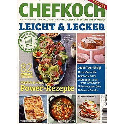 Chefkoch Spezial - Chefkoch Spezial 1/2019 Leicht & Lecker: 82 Power - Rezepte - Preis vom 11.05.2021 04:49:30 h