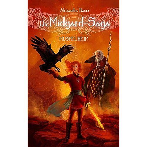 Alexandra Bauer - Die Midgard-Saga - Muspelheim (Die Midgard-Saga - Band 4) - Preis vom 26.02.2021 06:01:53 h