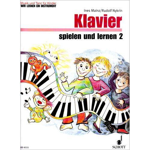 - Klavier Spielen + Lernen 2 Klavierheft 2. Klavier - Preis vom 13.05.2021 04:51:36 h