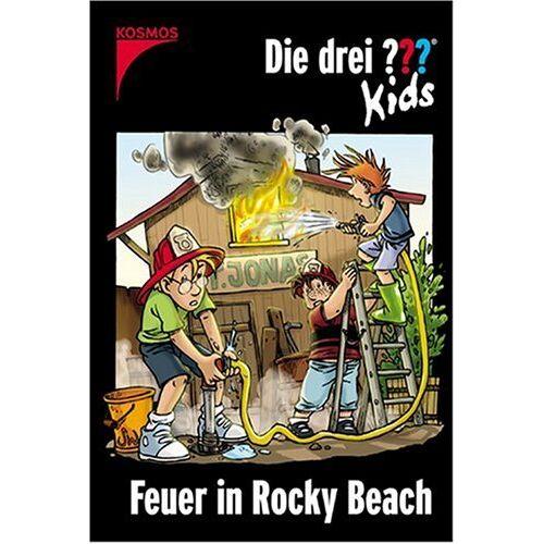 Ulf Blanck - Die drei Fragezeichen-Kids, Bd.23, Feuer in Rocky Beach - Preis vom 28.03.2020 05:56:53 h