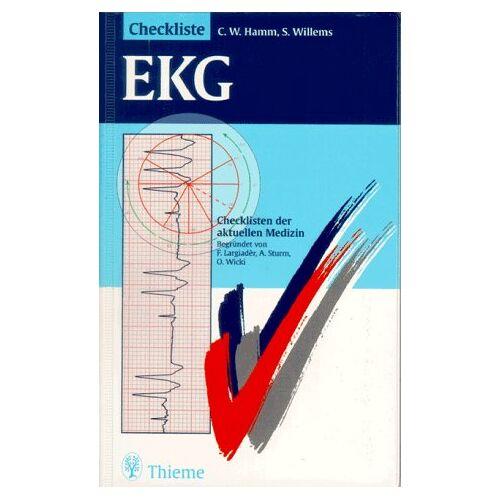Hamm, Christian W. - Checklisten der aktuellen Medizin, Checkliste EKG - Preis vom 06.09.2020 04:54:28 h