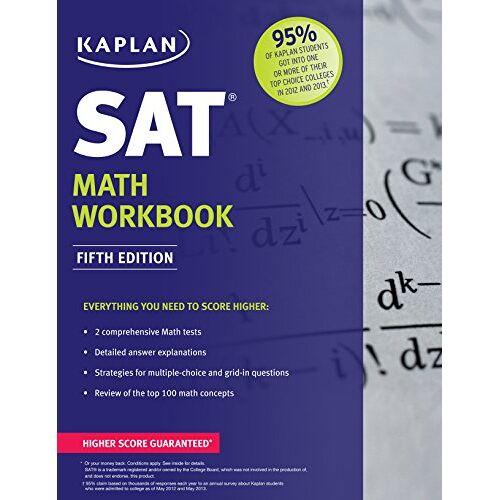Kaplan - Kaplan SAT Math Workbook (Kaplan Test Prep) - Preis vom 13.05.2021 04:51:36 h