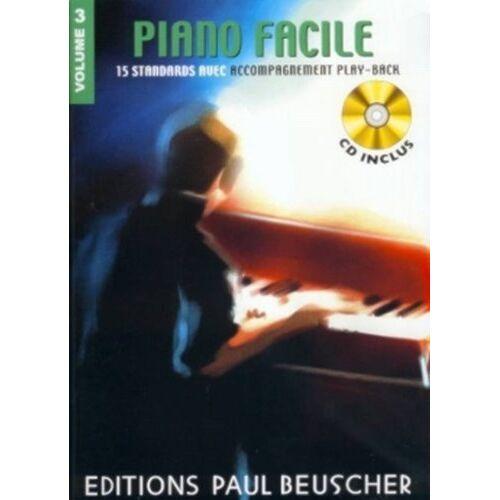Collectif - Partition : Piano facile vol. 3 + CD - Preis vom 07.05.2021 04:52:30 h