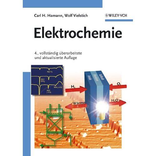 Hamann, Carl H. - Elektrochemie - Preis vom 24.01.2021 06:07:55 h