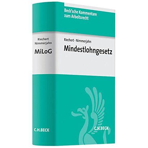 Christian Riechert - Mindestlohngesetz - Preis vom 06.05.2021 04:54:26 h