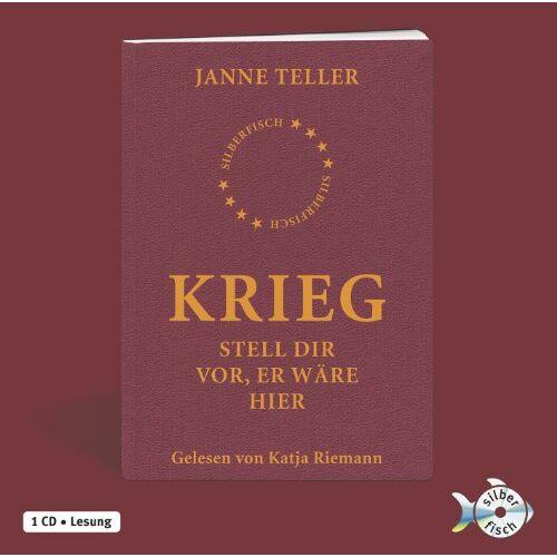 Janne Teller - Krieg. Stell dir vor, er wäre hier: : 1 CD - Preis vom 05.09.2020 04:49:05 h