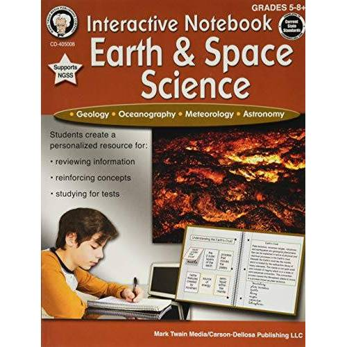 Schyrlet Cameron - Interactive Notebook: Earth & Space Science, Grades 5 - 8 - Preis vom 21.01.2021 06:07:38 h