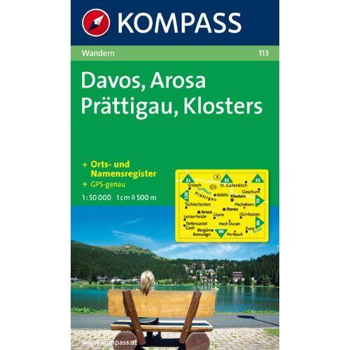 - Davos, Arosa, Prättigau, Klosters 1 : 50 000: Wanderkarte. GPS-genau - Preis vom 03.12.2020 05:57:36 h