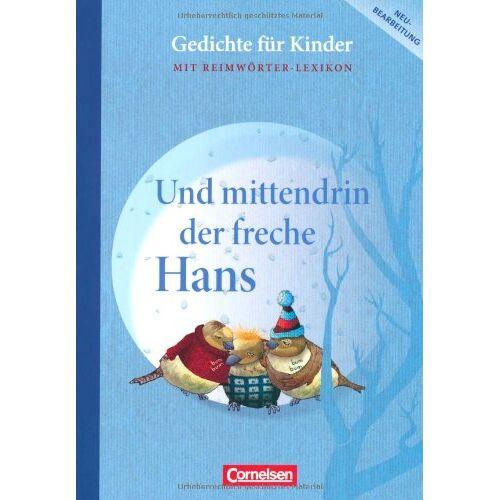 Gerhard Sennlaub - Und mittendrin der freche Hans: Gedichte für Kinder. Schülerbuch mit Reimwörter-Lexikon - Preis vom 07.05.2021 04:52:30 h