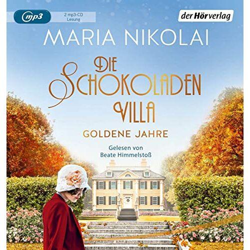 Maria Nikolai - Die Schokoladenvilla – Goldene Jahre: Roman (Die Schokoladen-Saga, Band 2) - Preis vom 06.09.2020 04:54:28 h