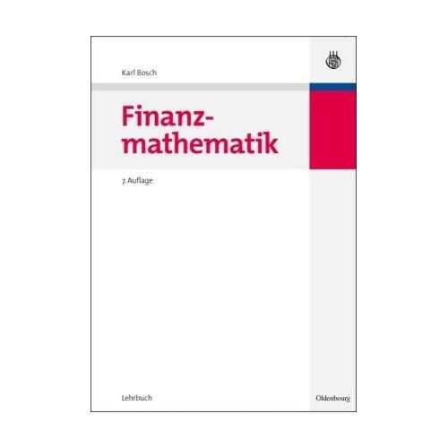 Karl Bosch - Finanzmathematik - Preis vom 18.04.2021 04:52:10 h