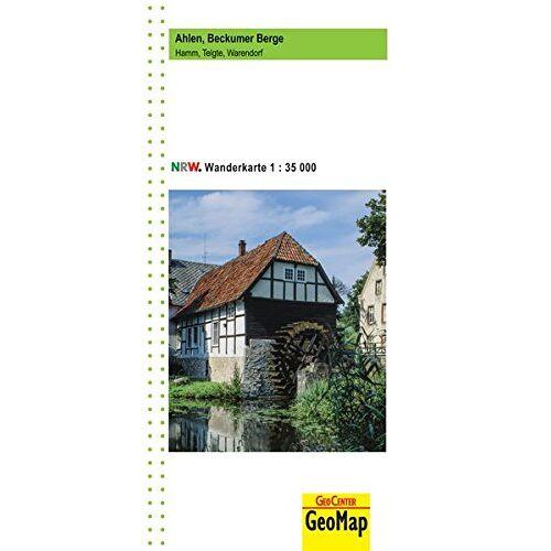 GeoMap - Ahlen, Beckumer Berge Wanderkarte 1:35 000: Hamm, Telgte, Warendorf - Preis vom 12.04.2021 04:50:28 h