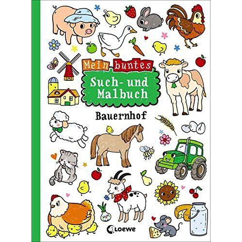 - Mein buntes Such- und Malbuch: Bauernhof - Preis vom 17.07.2019 05:54:38 h
