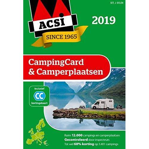 ACSI - ACSI CampingCard & Camperplaatsen 2019 (ACSI Campinggids) - Preis vom 12.05.2021 04:50:50 h