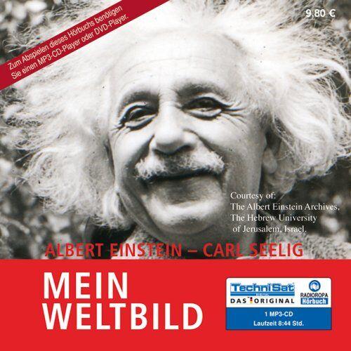 Albert Einstein - Mein Weltbild (1 MP3 CD) - Preis vom 07.05.2021 04:52:30 h