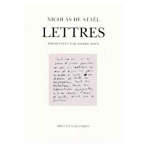 Staël, Nicolas de - LETTRES (Pergamine) - Preis vom 28.02.2021 06:03:40 h