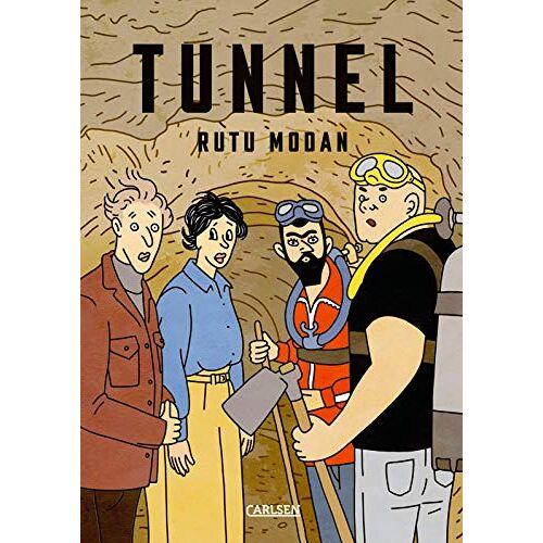 Rutu Modan - Tunnel - eine israelische Satire - Preis vom 17.04.2021 04:51:59 h