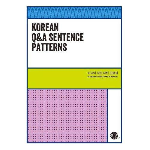 Talk To Me in Korean - Korean Q&A Sentence Patterns - Preis vom 17.04.2021 04:51:59 h